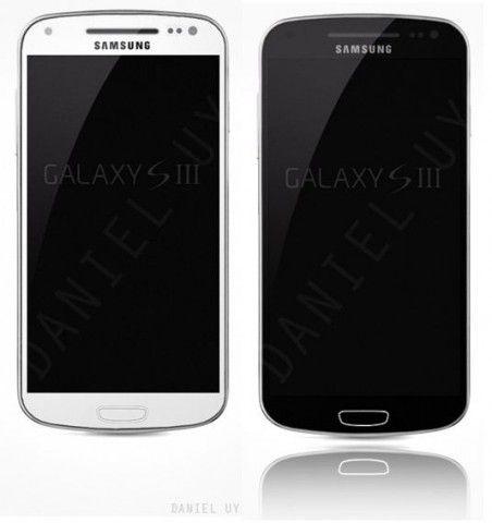 Samsung Galaxy S3 blanc et noir