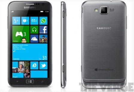 ATIV-S Samsung Windows Phone