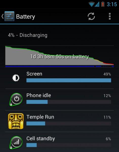 comment economiser la batterie de mon samsung galaxy ace