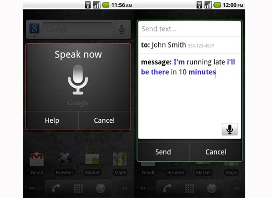 Android Voice Actions App