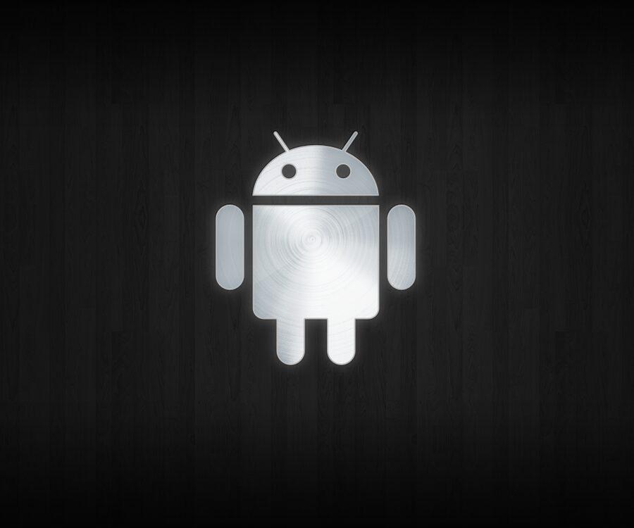 Droid Aluminium, Le fond d'écran Android du jour : Droid Aluminium