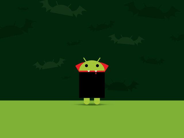 Droid Colors, Le fond d'écran Android du jour : Droid Dracula