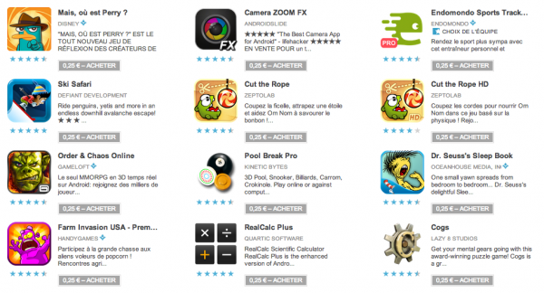 Google Play Promotions, Google Play Promotions : les jeux du jour 4