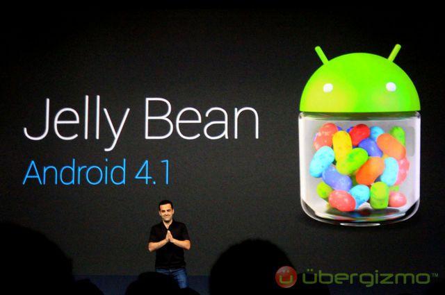 Jelly Bean, L'utilisation d'Android 4.1 Jelly Bean a augmenté de 1500% en deux mois