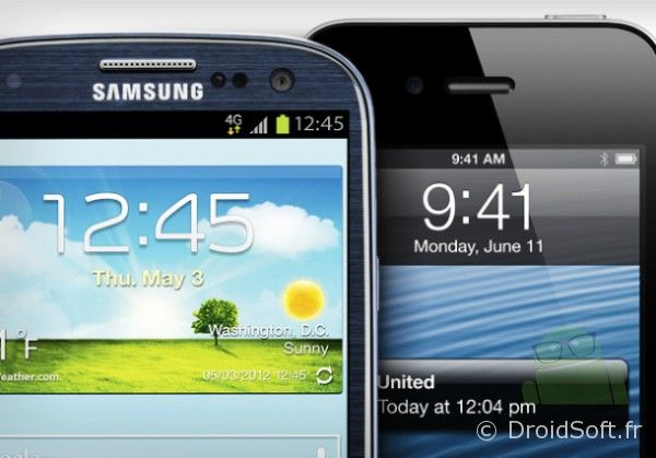 Galaxy S3 devant iPhone 4S