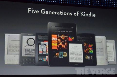 Amazon nouveaux kindles