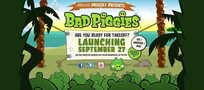 Angry Birds, Bad Piggies : le prochain Angry Birds annoncé pour le 27 septembre sur Android