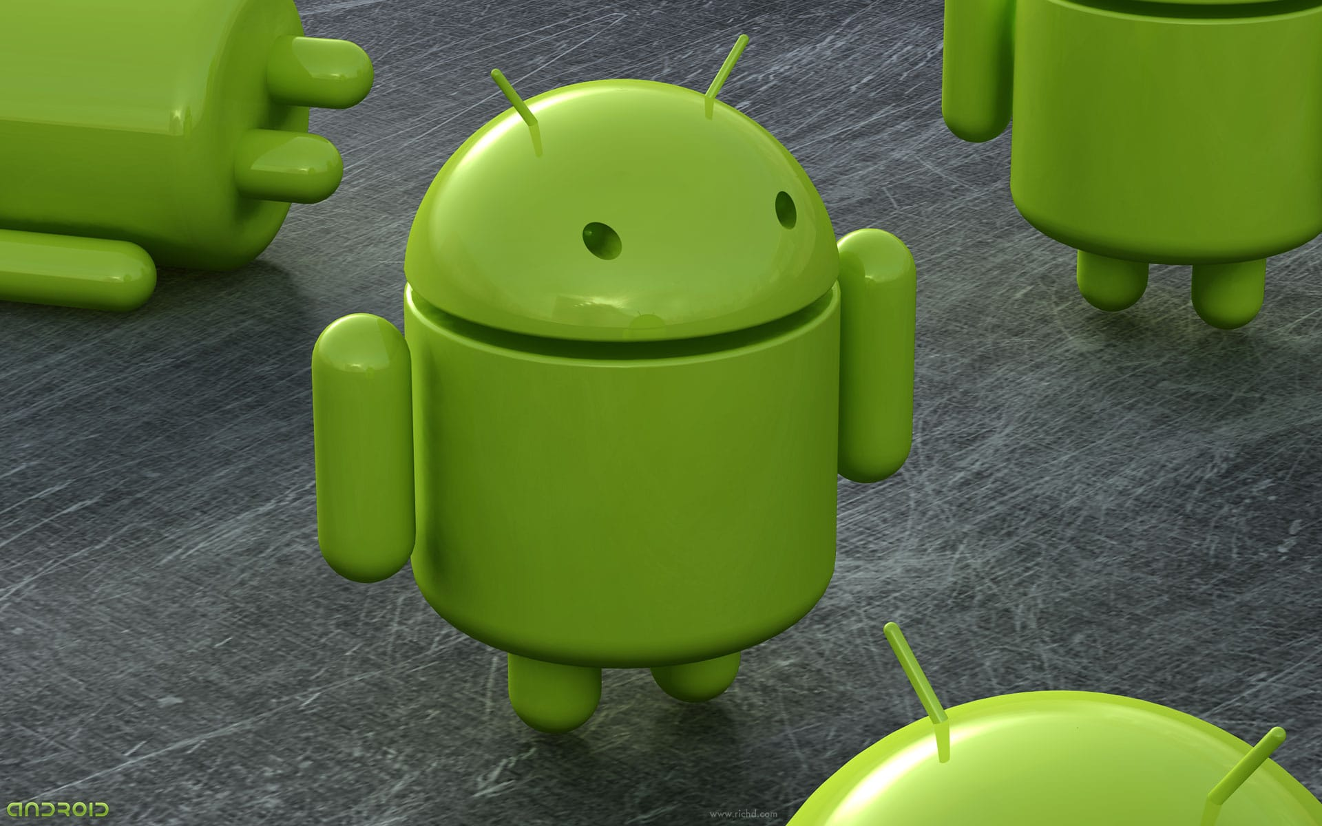 fond d'écran Android, Le fond d'écran Android du jour : Droid Army