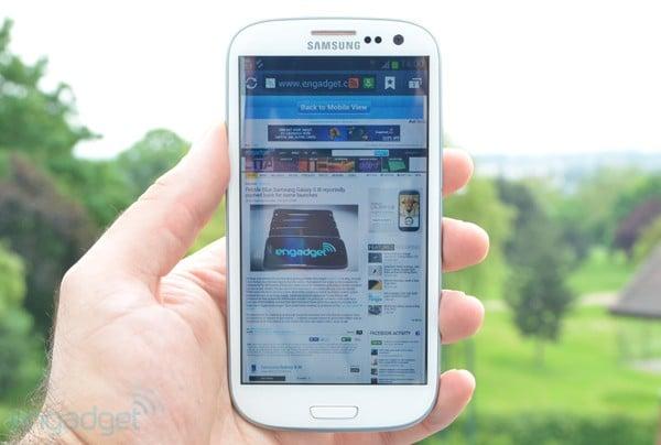 Jelly Bean, Le déploiement de Jelly Bean sur le Galaxy S3 a commencé en Pologne