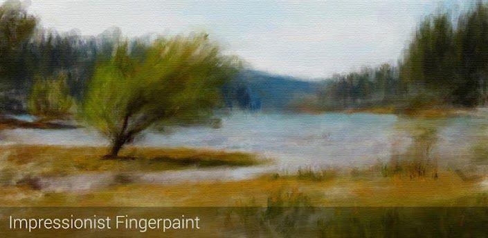 bon plan, Le bon plan app du jour : Impressionist Fingerpaint