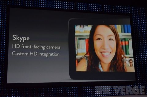 Amazon Kindle Fire HD Camera