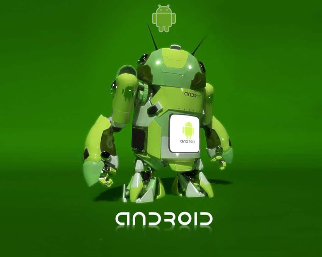 Droid Robot, Le fond d'écran Android du jour : Droid Robot