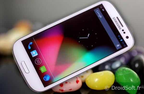 Samsung Galaxy S3 mise à jour Jellybean
