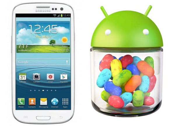 samsung S III jelly bean 4.1
