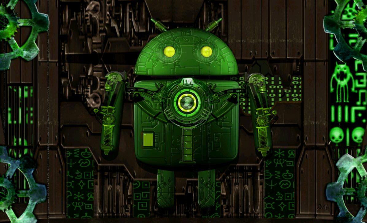 Droid Steampunk, Le fond d'écran Android du jour : Droid Steampunk