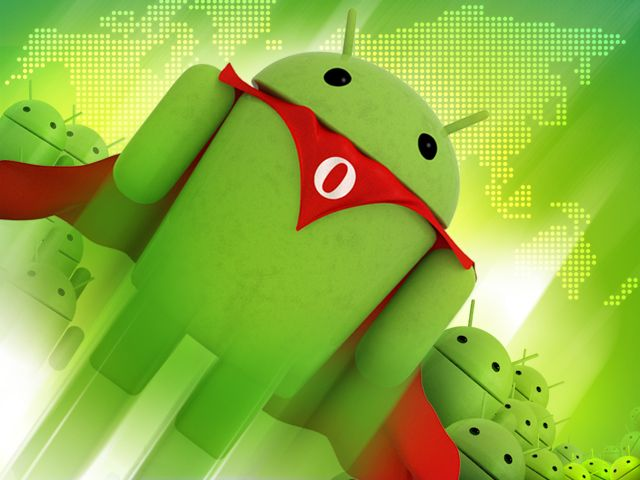 fond d'écran Android, Le fond d'écran Android du jour : Super Droid