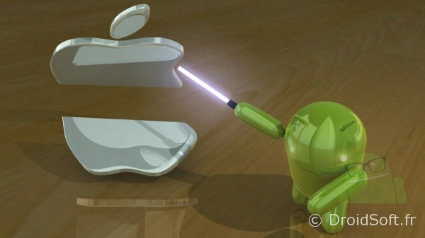 Wallpaper Android Droidjedi kill Apple