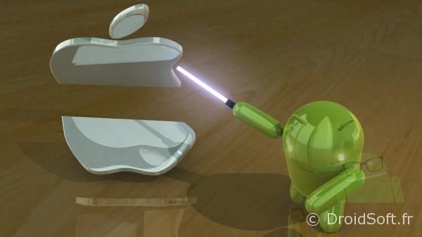 Wallpaper Android Droidjedi kill Apple