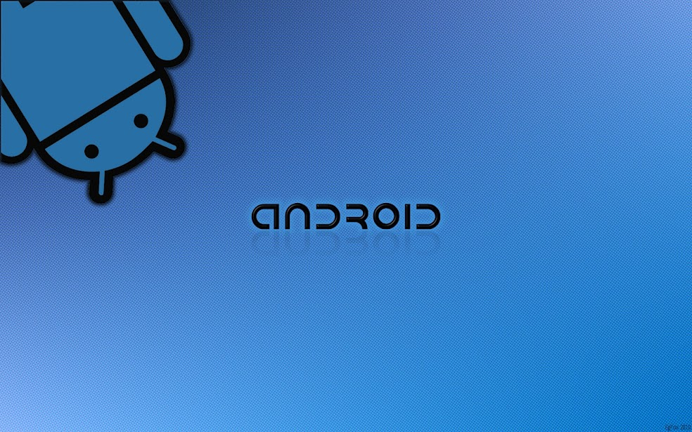 Wallpaper Android DroidBlue