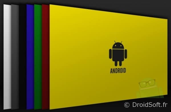 wallpaper Android Droid Colors