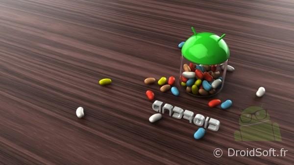 Le wallpaper Droidsoft du jour : Des bonbons Jelly Bean