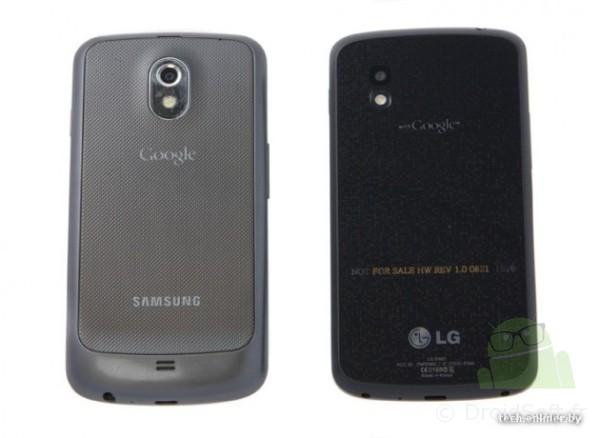 LG Nexus, LG Nexus 4 : un prototype a été testé