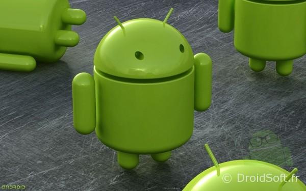 Droid Army Toy, Le fond d'écran Android du jour : Droid Army Toy