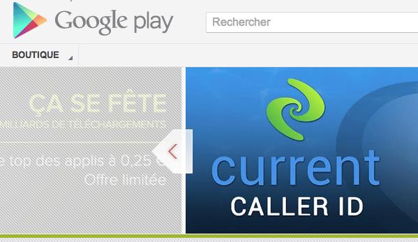 Google Play, Google Play : accès restreint pour la Réunion, la Guadeloupe, la Martinique, la Nouvelle Calédonie, la Guyane…