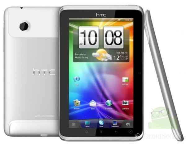 HTC FLyer tablette android