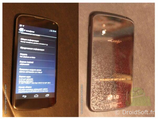 Nexus LG, Nexus LG : les premières photos
