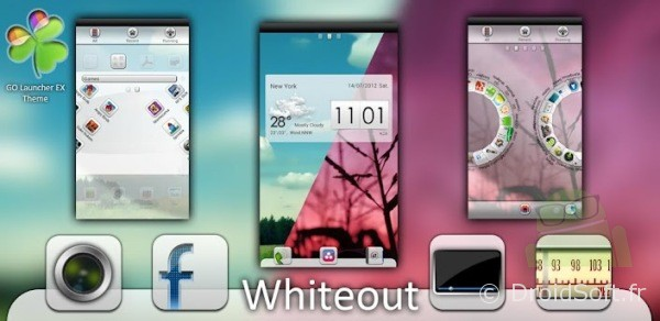 LauncherEx Theme Android gratuit
