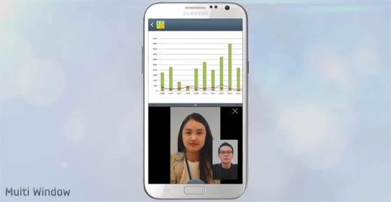 Multi Window Galaxy Note 2