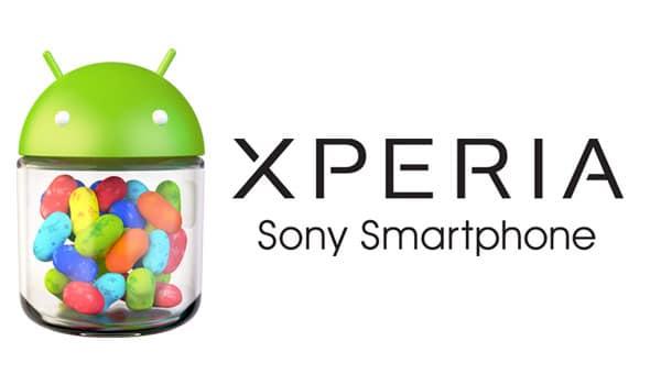 Xperia Sony Jelly-Bean
