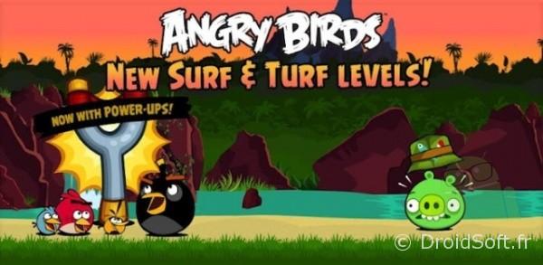 Angry Birds, Angry Birds mis à jour : du contenu en pagaille !