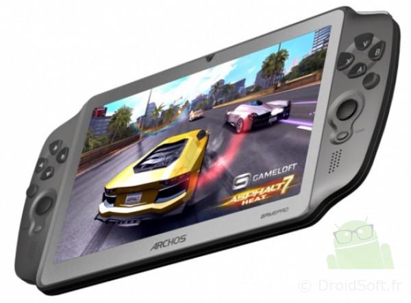 GamePad Archos, GamePad Archos : une tablette Android pour le jeu