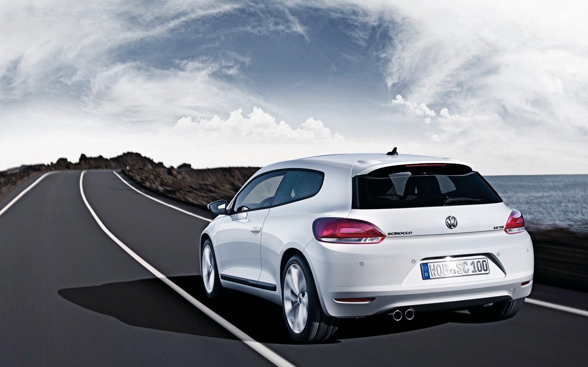 Volkswagen Scirocco, Le fond d'écran Android du jour : Volkswagen Scirocco