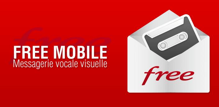 Free, Mon Compte Free et Messagerie Vocale Visuelle : 2 apps officielles sur le Play Store