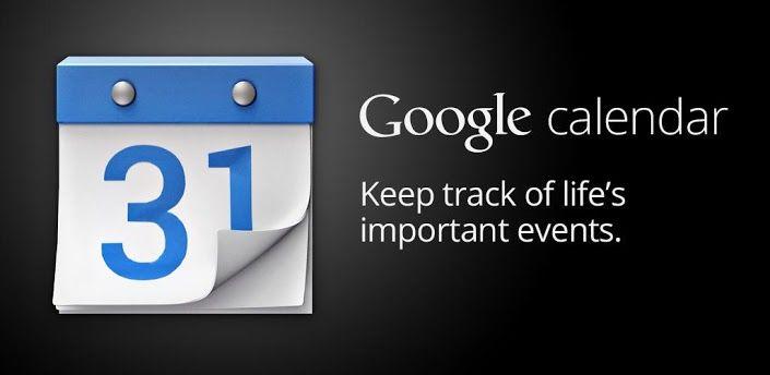 Google Agenda, Google Agenda disponible gratuitement sur le Play Store