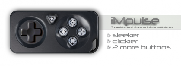 iMPulse, iMPulse : la manette miniature Bluetooth