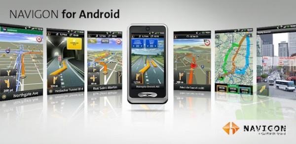 navigon android app gps