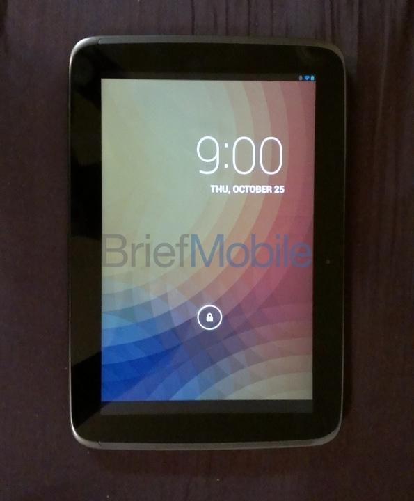 nouvelle tablette nexus 10
