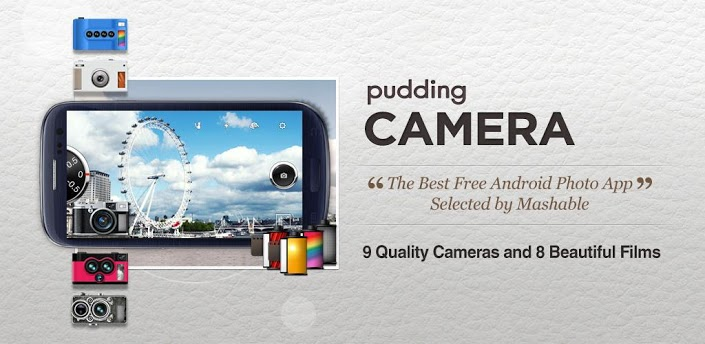 Pudding Camera, Le bon plan app du jour : Pudding Camera