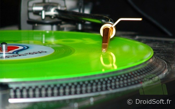 tourne disque android