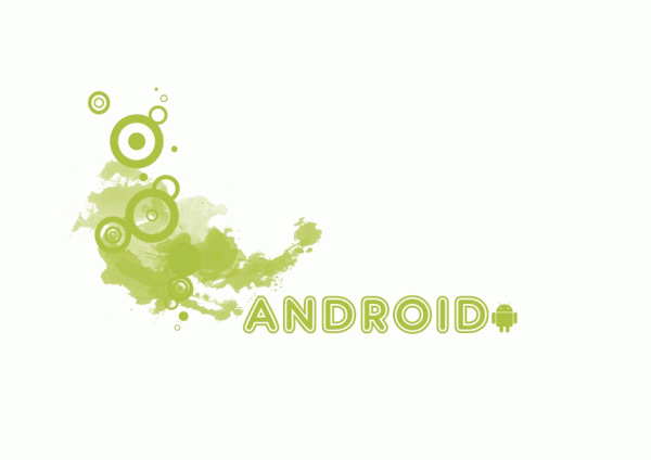 wallpaper ANDROID DESIGN blanc