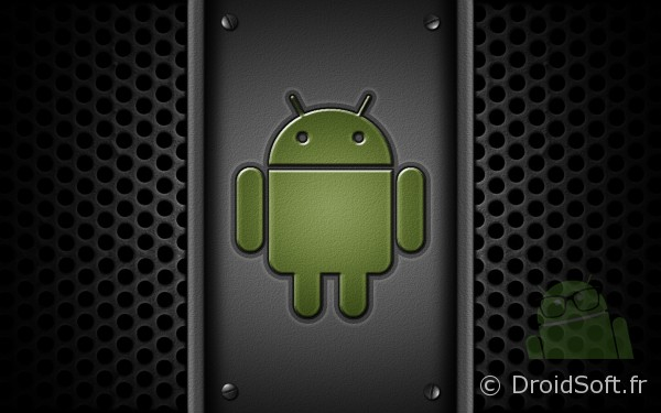 wallpaper android droid metal