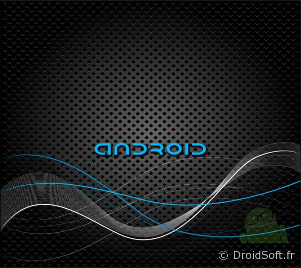 wallpaper android droid wave