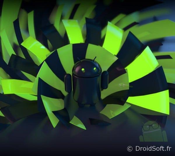 Hypnose Droid, Le fond d'écran Android du jour : Hypnose Droid