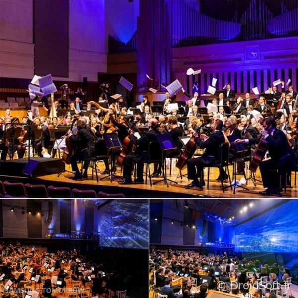 Orchestre belgique avec GALAXY-Note 10