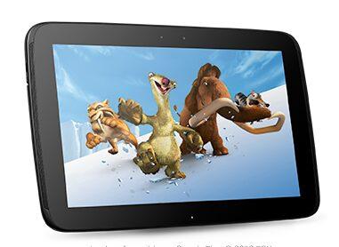 test Nexus 10, Test Nexus 10 en vidéo