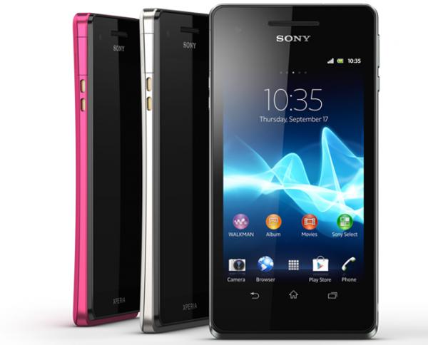 Sony Xperia V Android